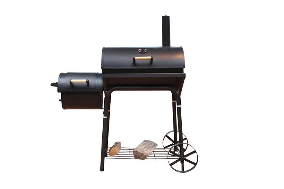 holzkohle grillwagen holzkohlegrill bbq grill smoker. Black Bedroom Furniture Sets. Home Design Ideas