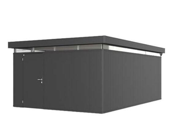 Biohort   Berging CasaNova 4 x 6   Deur Linksdraaiend   Donkergrijs-Metallic