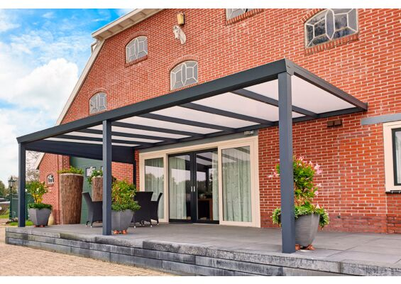 Aluxe Trendline veranda met platen 3000x3000