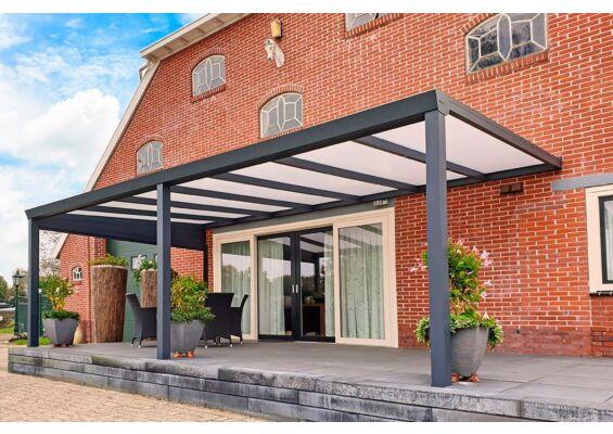 Aluxe Trendline veranda met platen 7950x3000