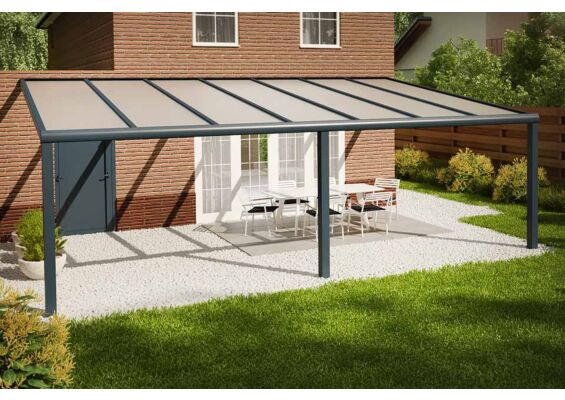 Fonteyn | Veranda Comfortline 706 x 400 cm RAL7016 Grijs