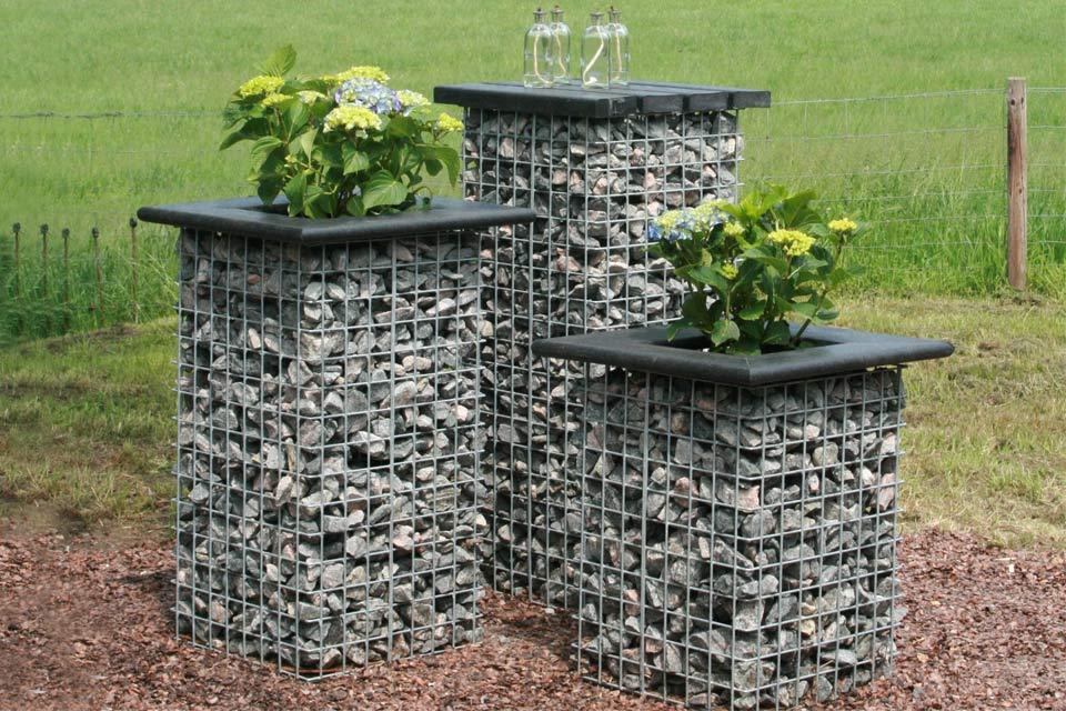 Gardeco tuin decoratie zuil 95 cm compleet - Decoratie stenen tuin ...