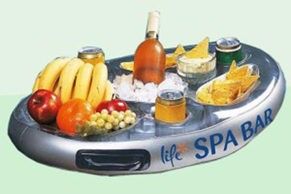 Spa bar aufblasbare minibar whirlpool hot tub tablett for Aufblasbare pools im angebot