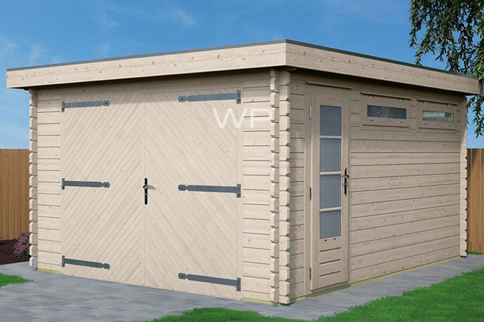 Woodpro Garage 26455