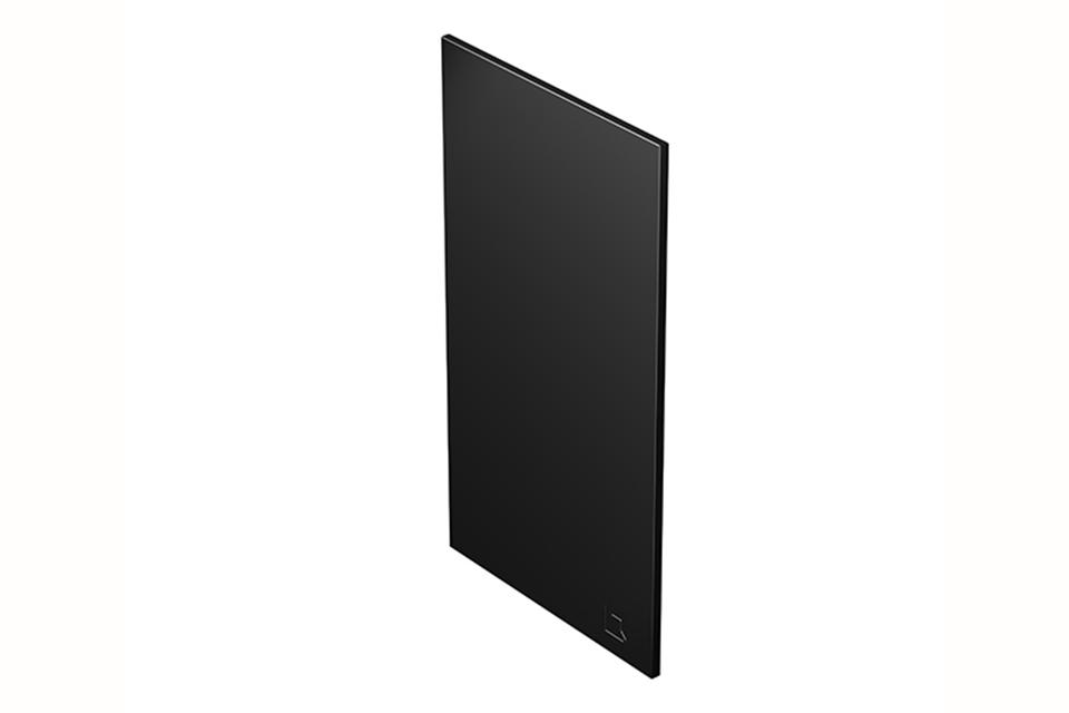 OneQ | Front Black | Afdekplaat Front Zwart