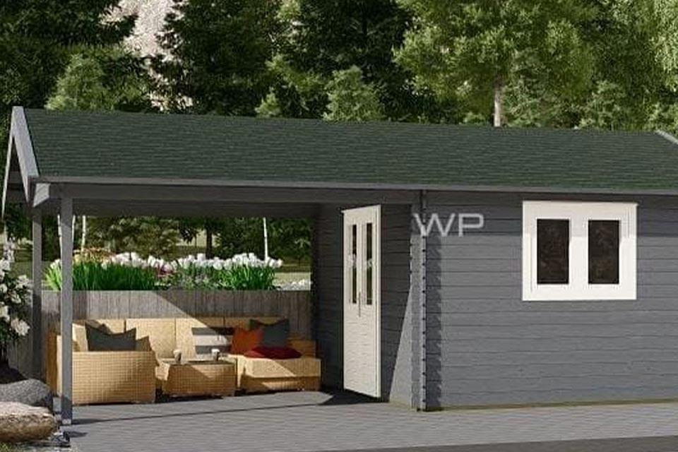 Woodpro Blokhut 28009
