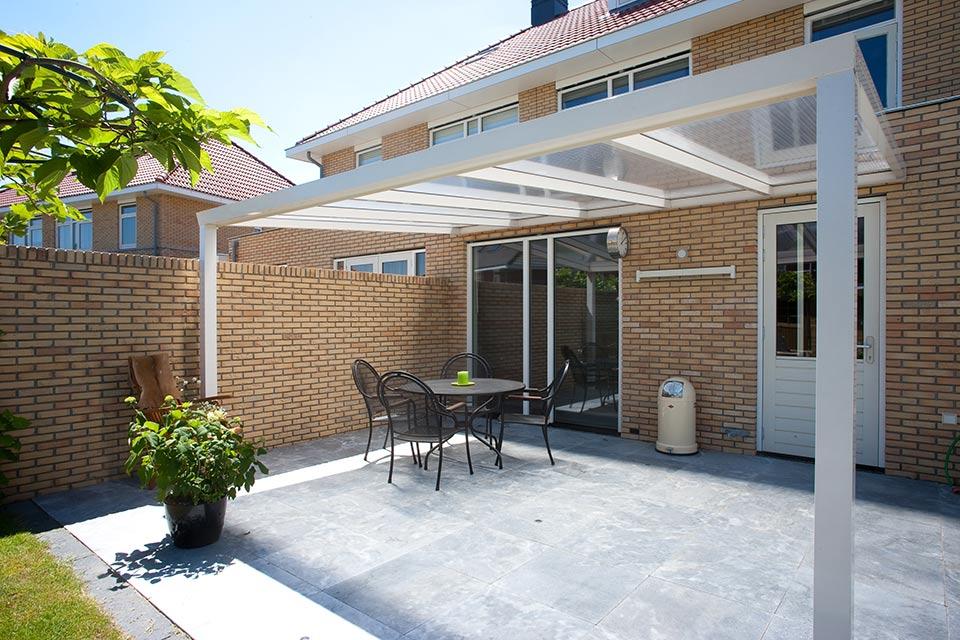 Aluxe Trendline veranda met platen 3000x2500