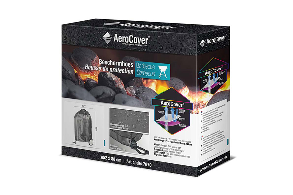 AeroCover | Afdekhoes BBQ Ø47 cm