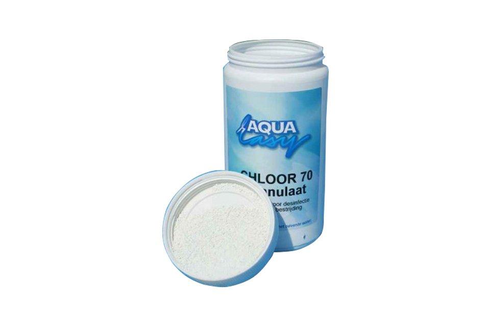 Aqua Easy | Chloor 70% Granulaat | Pot 1 kilo
