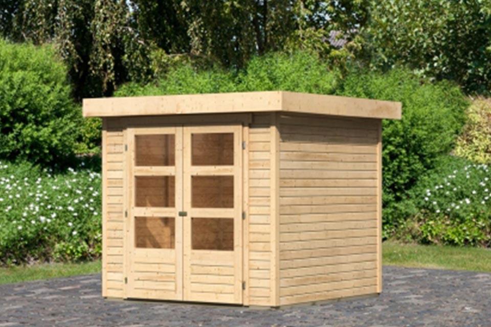 Woodfeeling | Tuinhuis Askola 2 | Onbehandeld