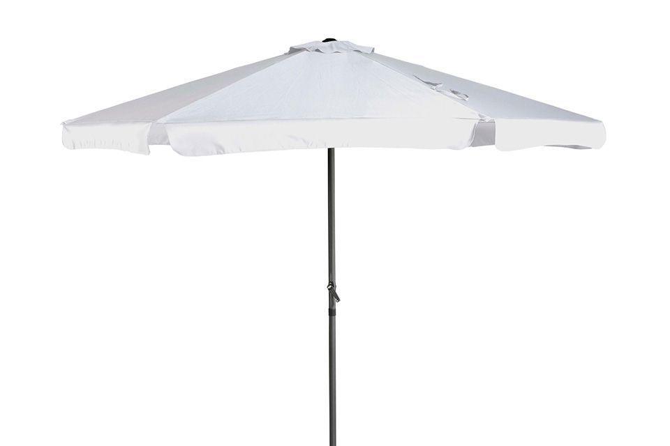 Platinum | Parasol Antigua Ø300 cm | Wit