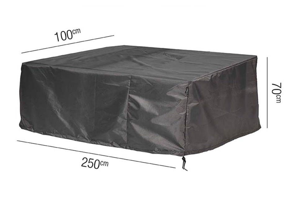AeroCover | Loungebankhoes 250 x 100 x 70(h) cm