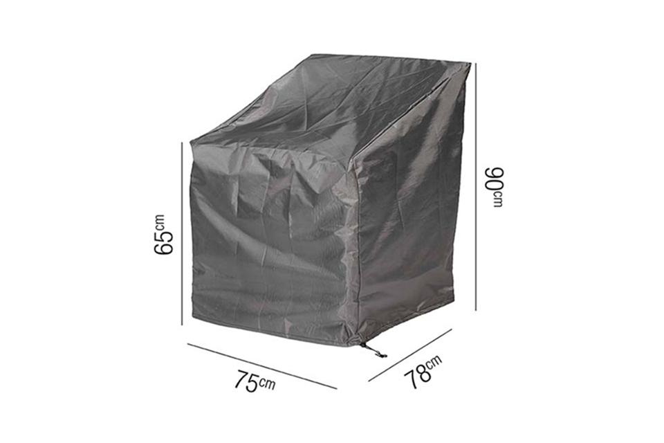 AeroCover | Loungestoelhoes 75 x 78 x 65-90(h) cm