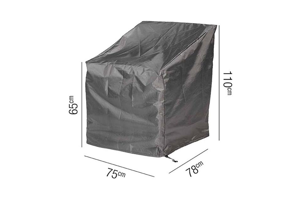 AeroCover | Loungestoelhoes XL 75 x 78 x 65-110(h) cm