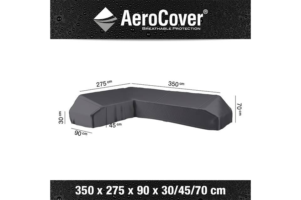 AeroCover | Loungesethoes 350 x 275 x 90 x 30-45-70(h) | L-Platform Links