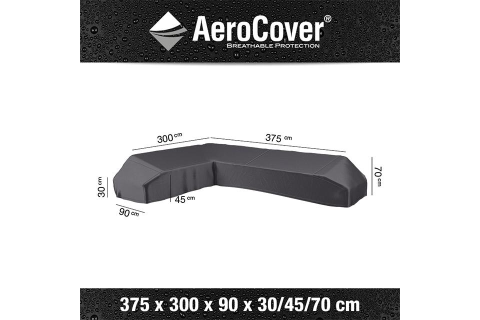 AeroCover | Loungesethoes 375 x 300 x 90 x 30-45-70(h) | L-Platform Links