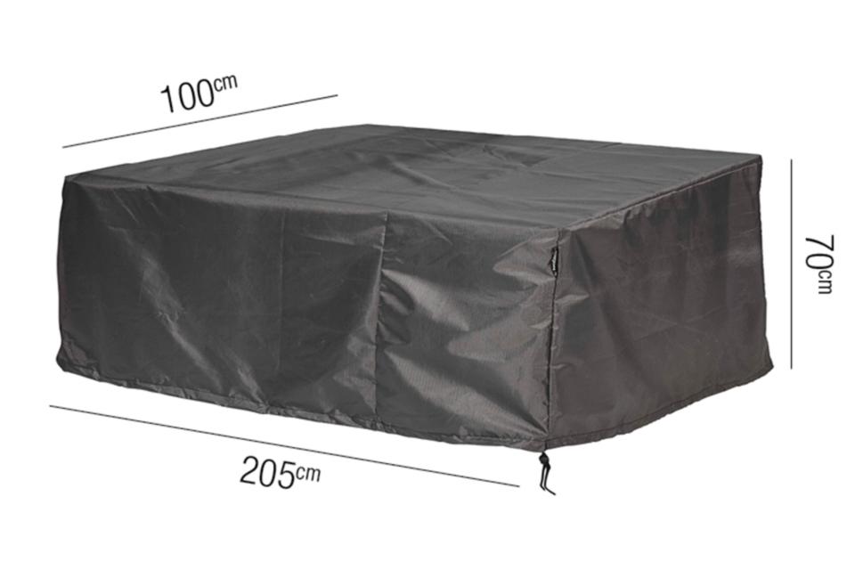 AeroCover | Loungebankhoes 205 x 100 x 70(h) cm