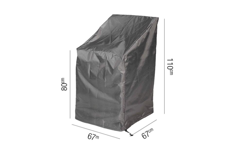 AeroCover | Stapelstoelhoes 67 x 67 x 80-110(h) cm