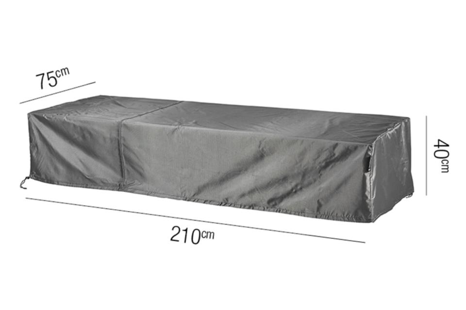 AeroCover | Ligbedhoes 210 x 75 x 40(h) cm