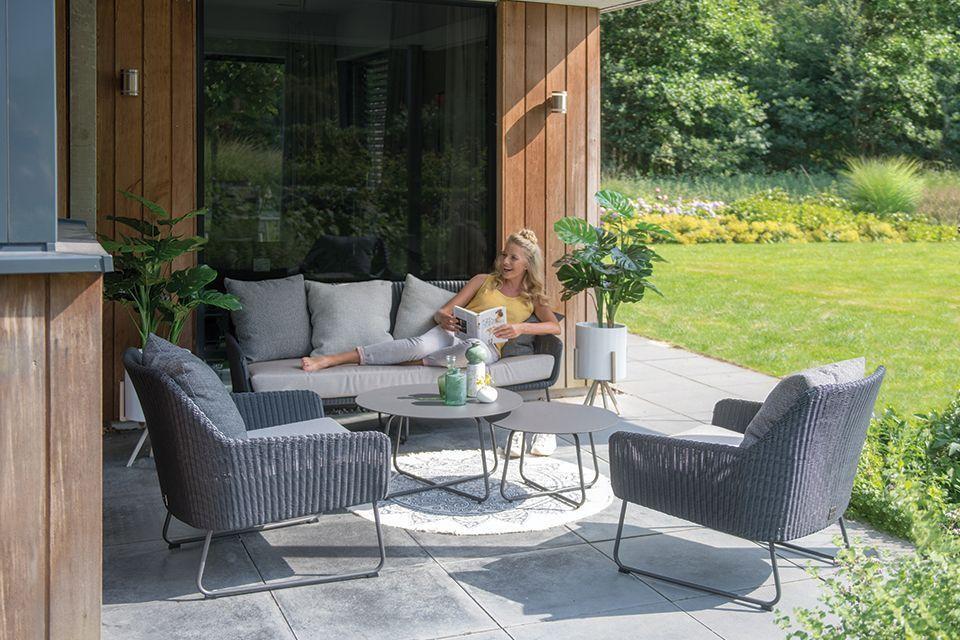 4 Seasons Outdoor | Loungeset Avila | Antraciet