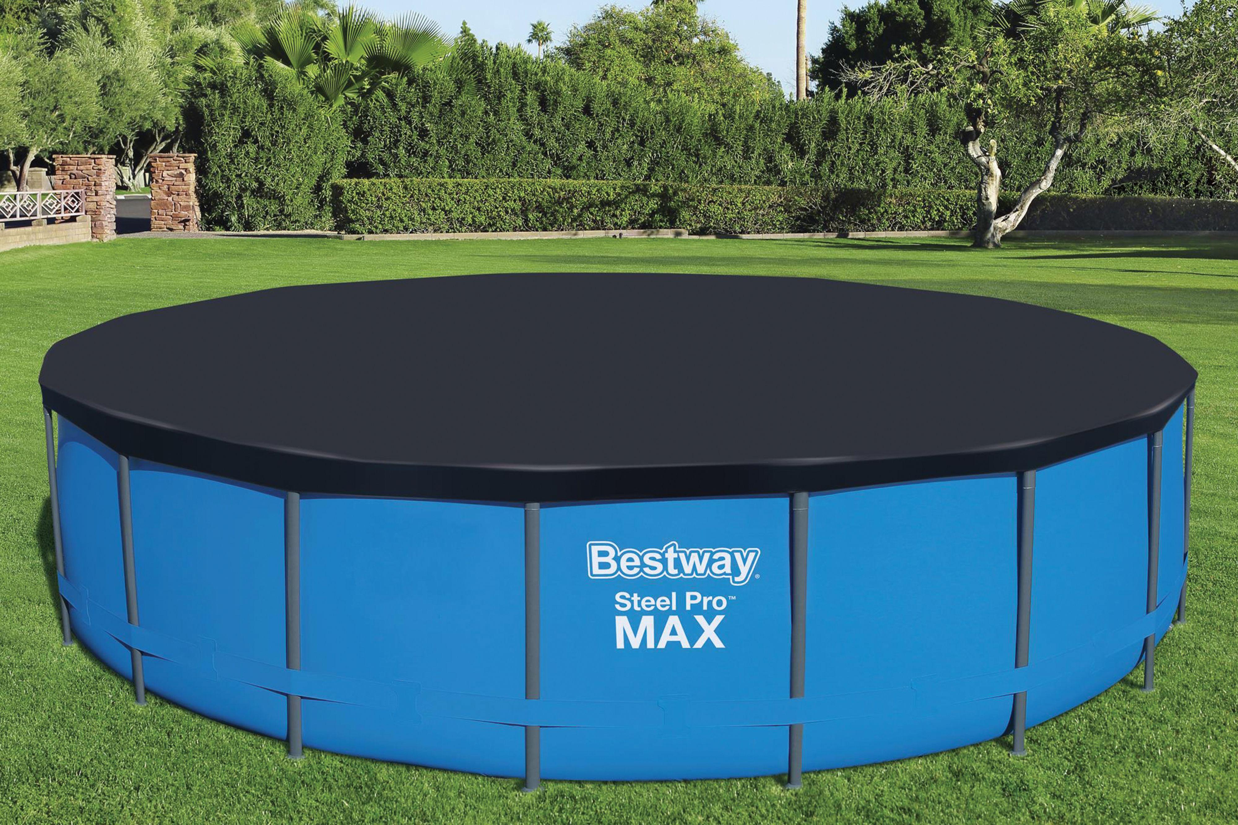 Bestway | Flowclear Afdekzeil PVC Ø 549 cm
