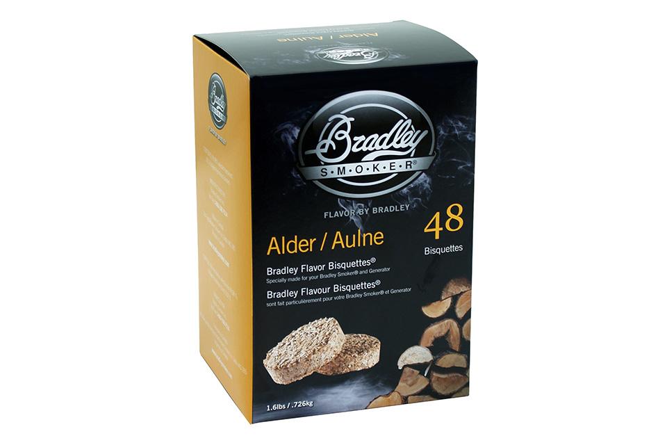 Bradley Smoker | Bisquettes Alder/Elzen | 48 Stuks