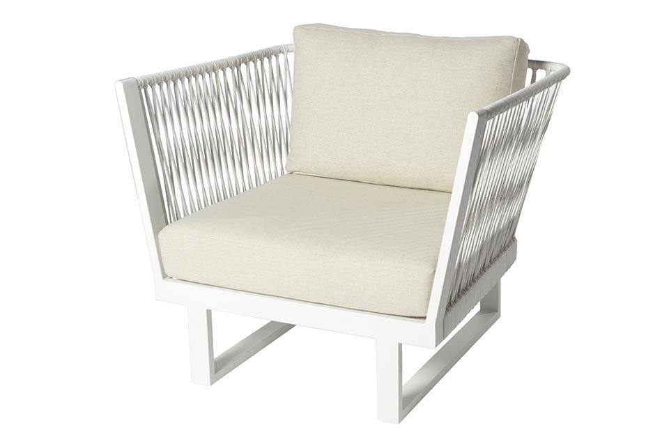 Borek | Loungestoel Altea | Off-White