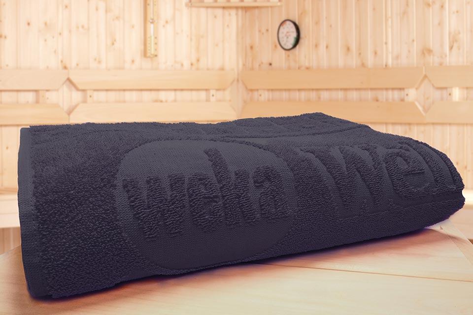 Weka | Sauna Handdoek 1 | Antraciet