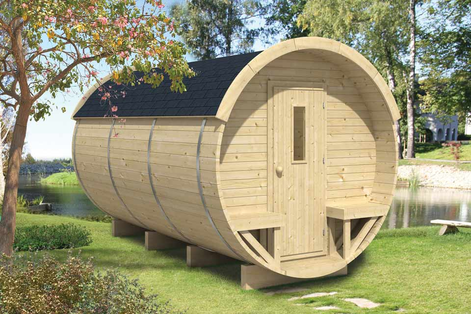 Tuindeco   Barrel Camping/Office