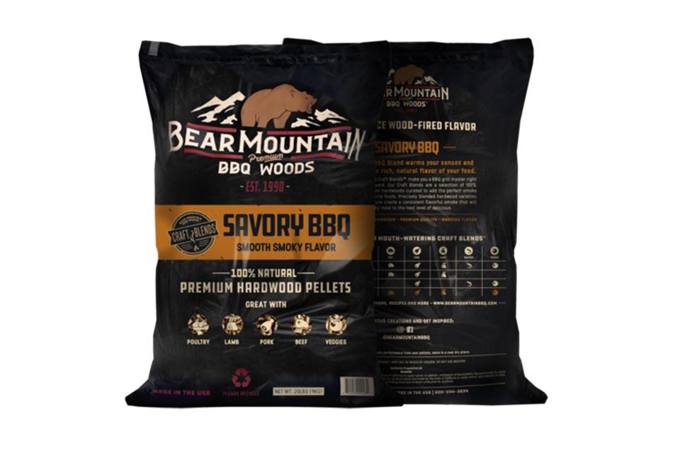 Bear Mountain | Savory Pellets | 9,07kg