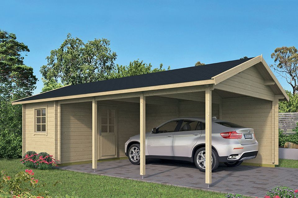 Tuindeco | Carport-Berging Ever