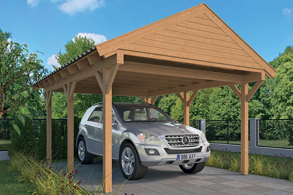 Tuindeco | Carport Workum DHZ