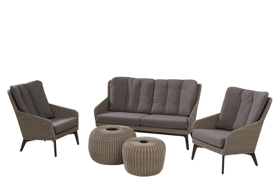 4 Seasons Outdoor | Loungeset Luxor | Donut