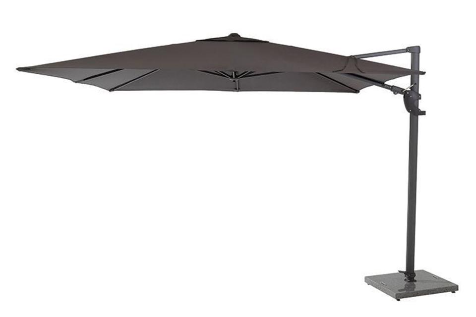 4 Seasons Outdoor | Parasol Horizon Premium 300 x 300 cm | Antraciet