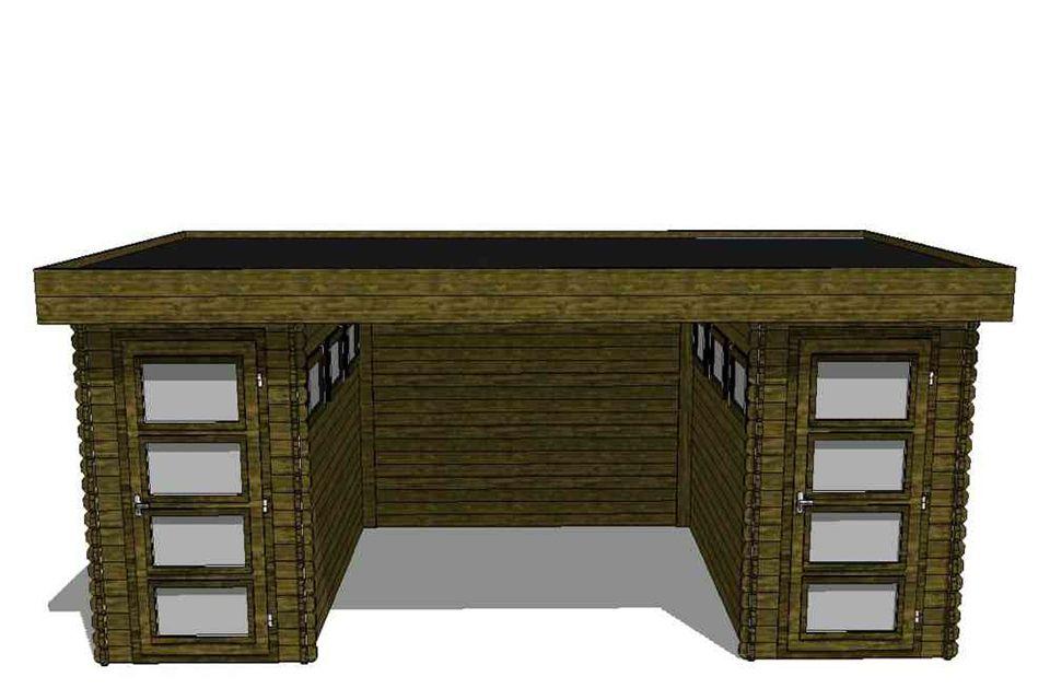 Fonteyn Tuinhuis / Blokhut Module 600 x 300