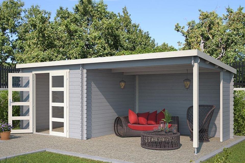 Outdoor Life Products | Tuinhuis Manuel Gecoat | Platinum Grey