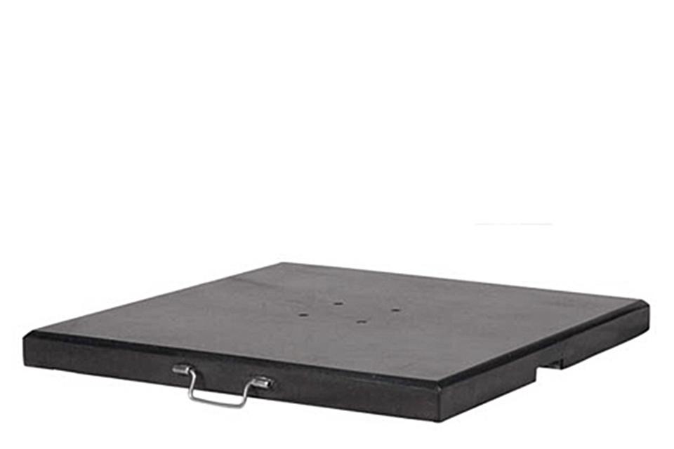 Platinum | Parasolvoet Milano Graniet | 90 kg