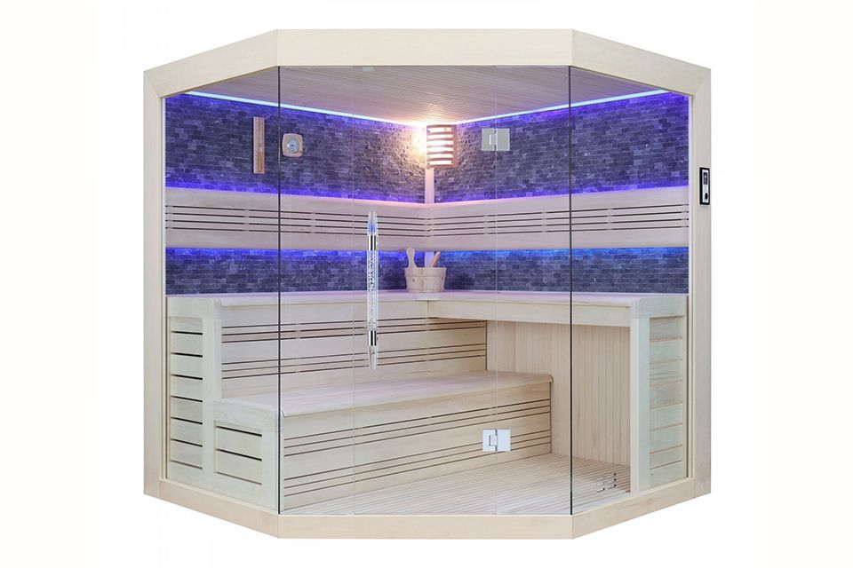 Fonteyn | Sauna Marriot 200 | Black Stone
