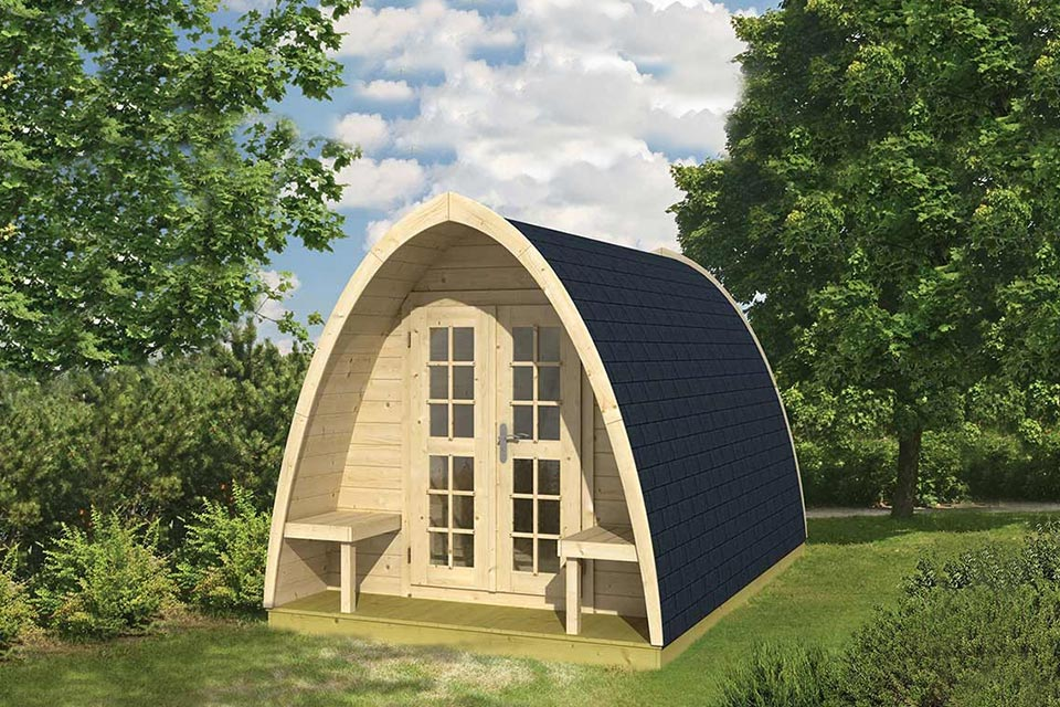 Tuindeco | Pod Camping/Office Dubbel