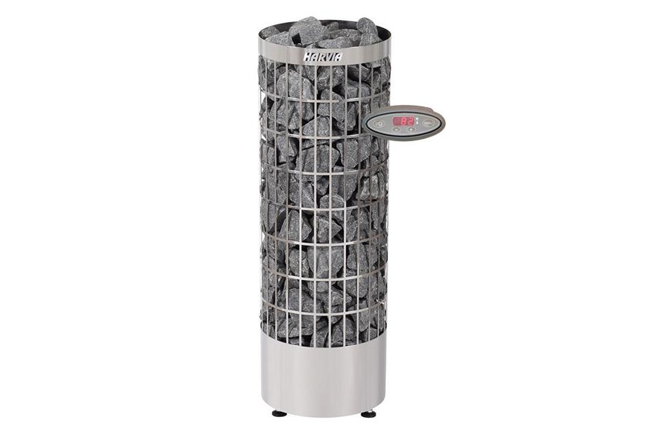 Harvia | Saunakachel Cilindro PC110EE Steel