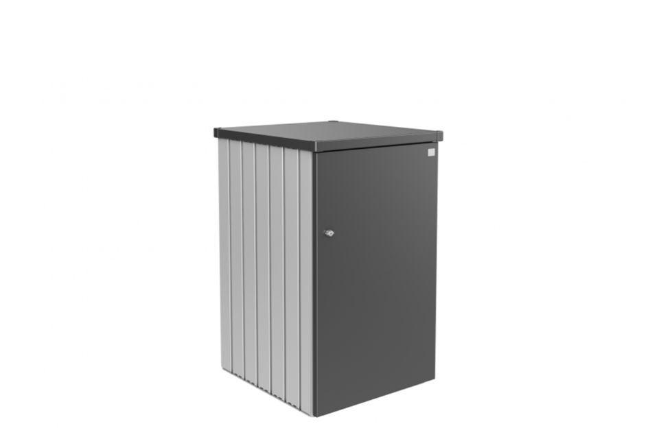Biohort | Containerbox Alex Variant 1.3 | Zijwanden Zilver-Metallic en Dak Donkergrijs-Metallic