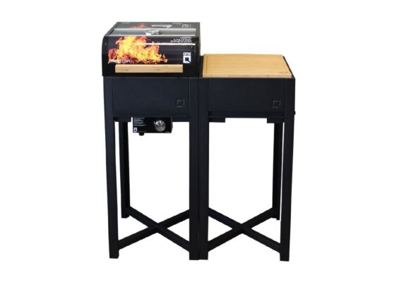 OneQ | Buitenkeuken Flame Set | Zwart