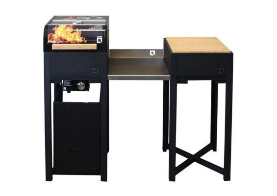 OneQ | Buitenkeuken Flame Set Plus | Zwart