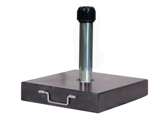 Platinum | Parasolvoet Rome Graniet | 40 kg