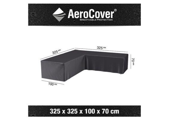 AeroCover   Loungesethoes 325 x 325 x 100 x 70(h)   L-vorm