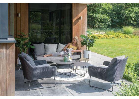 4 Seasons Outdoor   Loungeset Avila   Antraciet