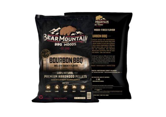 Bear Mountain   Bourbon BBQ Craft Blend Pellets   9,07kg