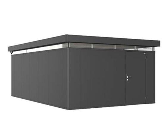 Biohort | Berging CasaNova 4 x 6 | Deur Rechtsdraaiend | Donkergrijs-Metallic