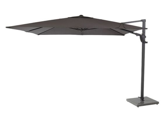 4 Seasons Outdoor | Horizon Premium Parasol 300 x 300 cm | Antraciet
