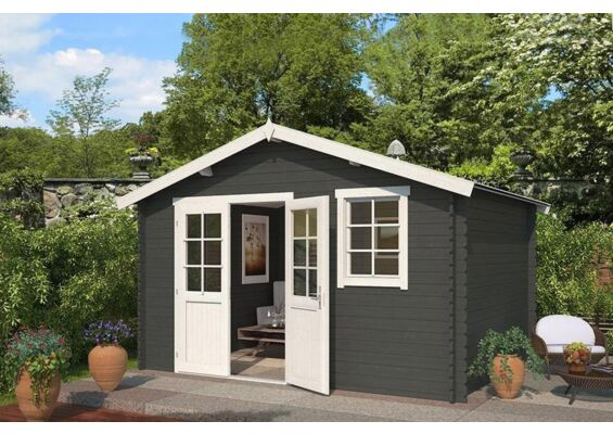 Outdoor Life Products | Tuinhuis Arvid 300 Gecoat | Carbon Grey